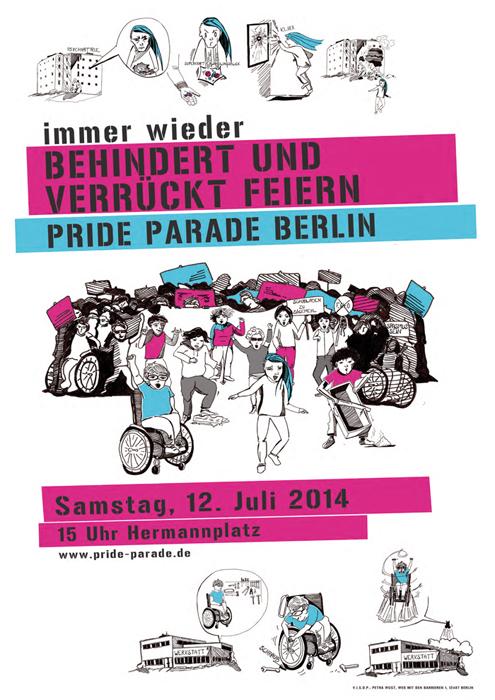 Plakat zur Parade 2014